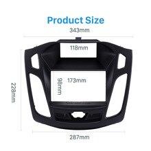 Seicane 173*98 мм панель рамка Комплект двойной Din Автомобильная аудио панель для 2011-2013 Ford Focus Радио Установка отделка тире рамка