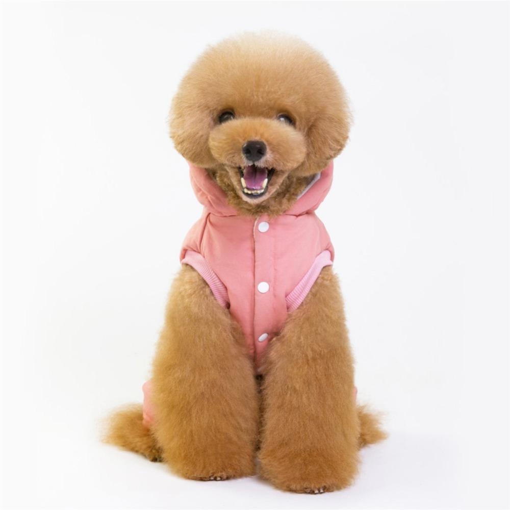 Cálido abrigo para cachorros y perros pequeños 3