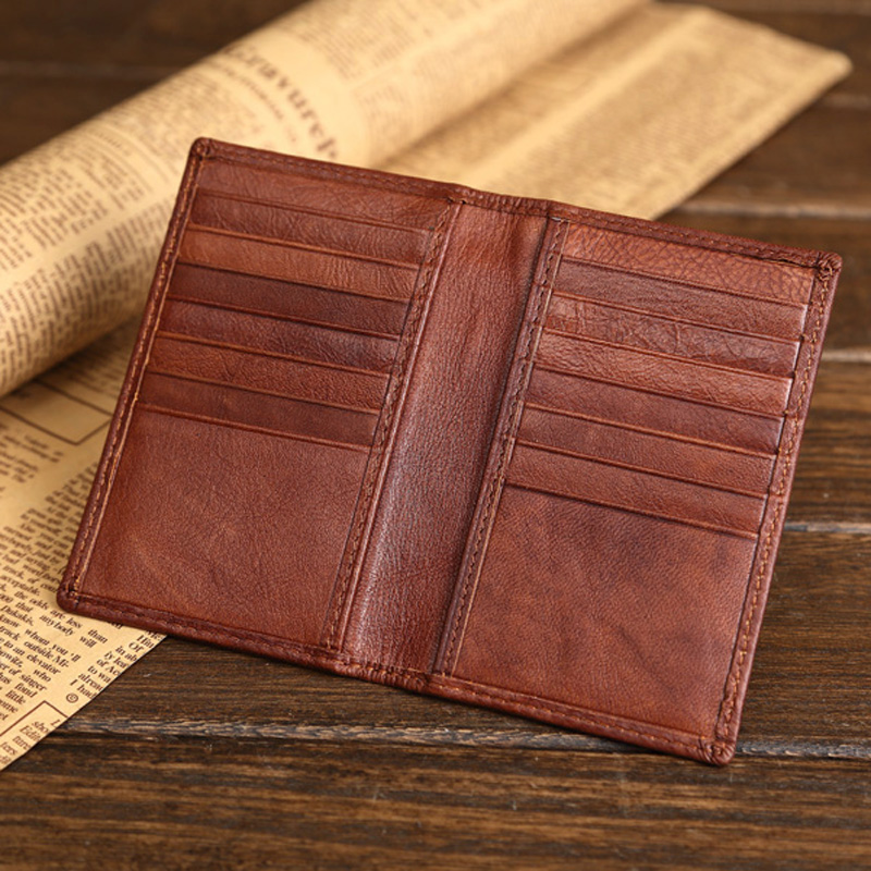 aliexpresscom buy high quality genuine leather credit card wallet real leather card holder small mini size cowhide license holder bag case from reliable - Leather Card Holder Wallet