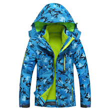 2016 Outdoor Winter Women Snowboard Skiing Jacket Climbing Camping Camouflage Sports Jacket Suit Hiking Jacket High Quality