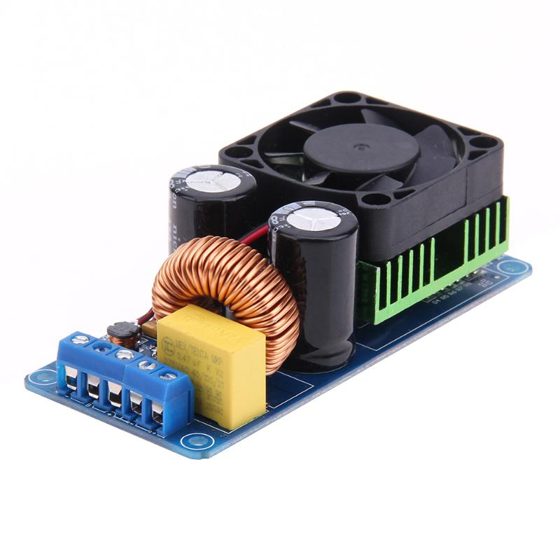 цена на IRS2092S 500W Mono Channel Digital Amplifier Class D HIFI Power Amp Board Digital Amplifier Module High Quality