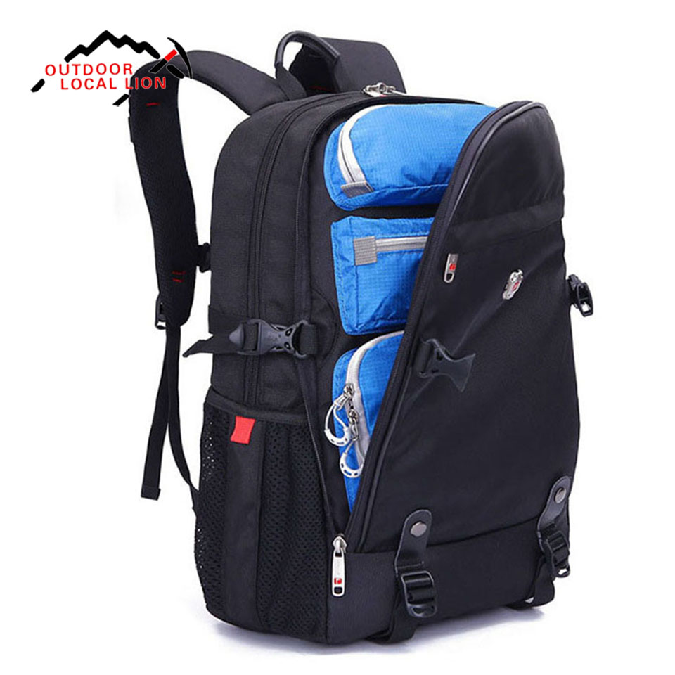 LOCAL LION 30L 22L Waterproof Travel Backpack Camping Hiking men women Rucksack Computer Backpack Outdoor Sports