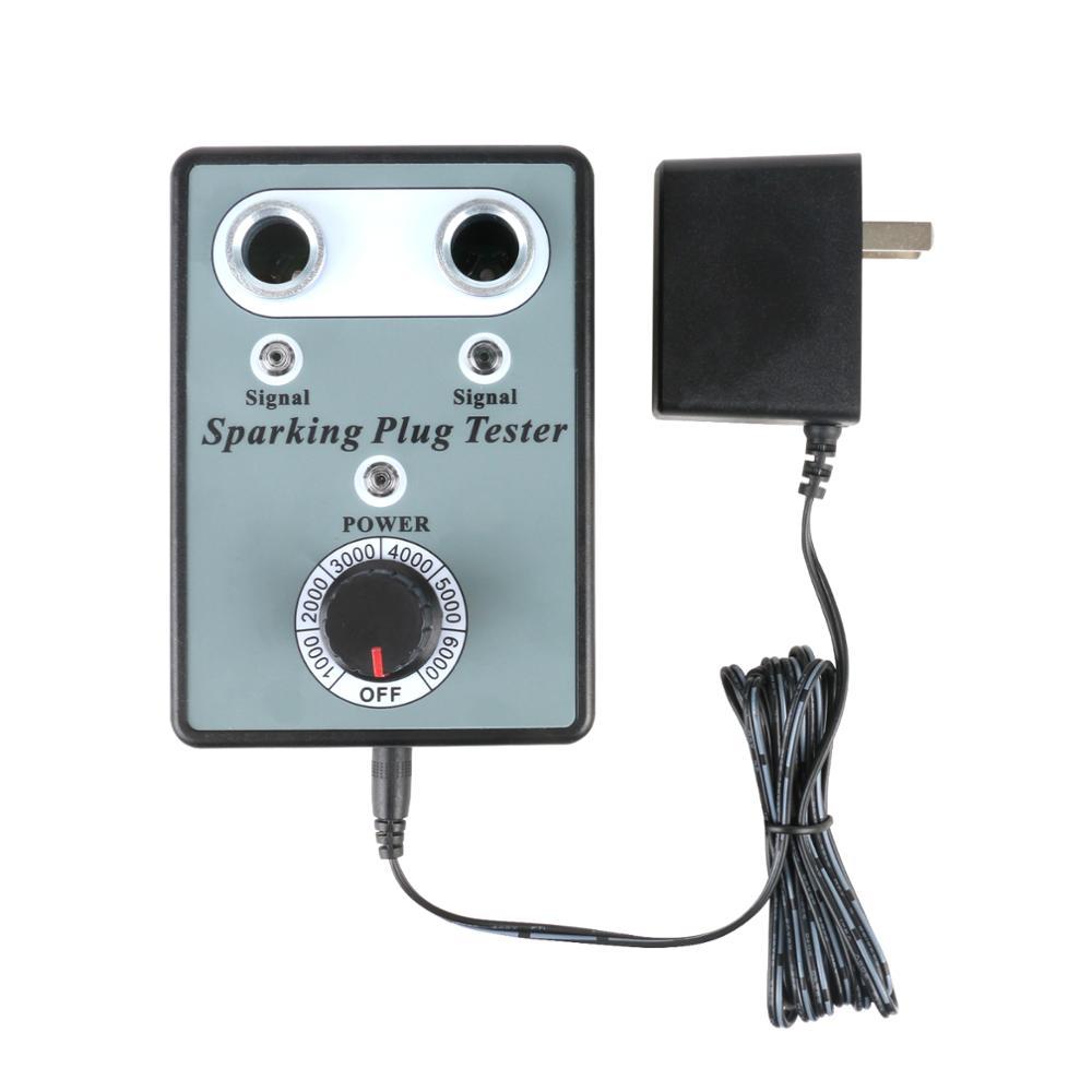 Dual Hole Car Spark Plug Tester Ignition Plug Analyzer Diagnostic Tool Automotive Spark Plug Detector Dual Hole Car Spark Plug Tester Ignition Plug Analyzer Diagnostic Tool Automotive Spark Plug Detector