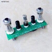 IWISTAO FU50 Vacuum Tube Amplifier 2x8W Single-ended Class A PCBA Finished Board Small 300B DIY