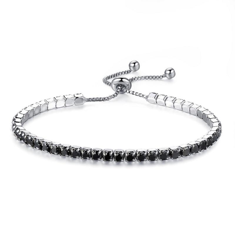 MISANANRYNE Simply Style Elegant Crystal Blue Color Bracelet 2018 New Arrival High Quality Bracelets Jewelry for Women OL Ladies