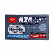 New 2013 5pcs/box Brand Razor Blades For Men Blades Women Safety Mens Shaving Stainless Steel Double Edge Free Shipping
