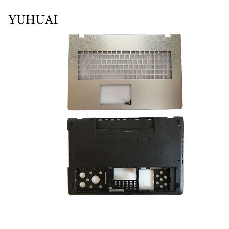NOUVEL Ordinateur Portable Shell Pour ASUS N76 N76V N76S N76VM Repose-poignets Supérieure/couverture de cas de Fond
