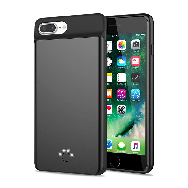 For <font><b>iphone</b></font> <font><b>6</b></font> <font><b>Battery</b></font> <font><b>Case</b></font> Smart Silicone material Phone <font><b>Case</b></font> Cover And Power Bank For <font><b>iphone</b></font> <font><b>6</b></font> 6s 7 <font><b>Battery</b></font> <font><b>Case</b></font> image