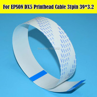 10 PCS/Lot F187000 F186000 DX5 Printhead Cable For Epson Stylus Pro 4880 7880 9880 Solvent Printer Head