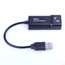 USB Ethernet Adapter Network Card USB Lan Mini Network Adapter USB to RJ45 10/100 Mbps Lan