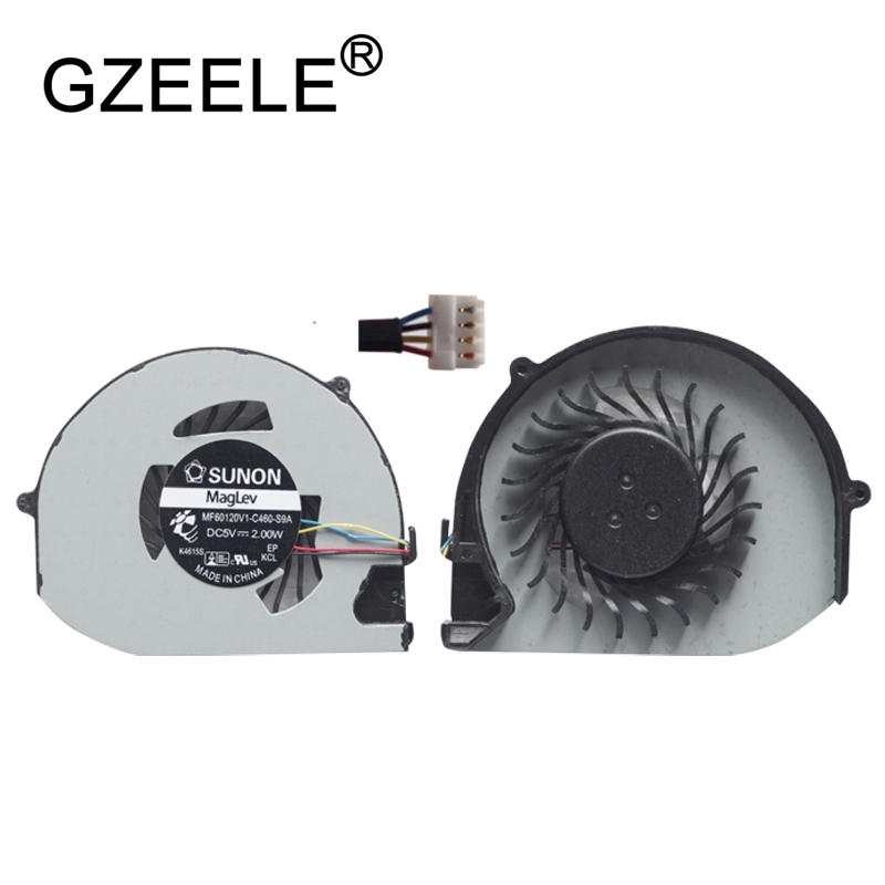 GZEELE New Laptop Cpu Cooling Fan For Acer Aspire S3 S3-391 S3-951 S3-371 S3-331 MS2346 Notebook Computer Processor