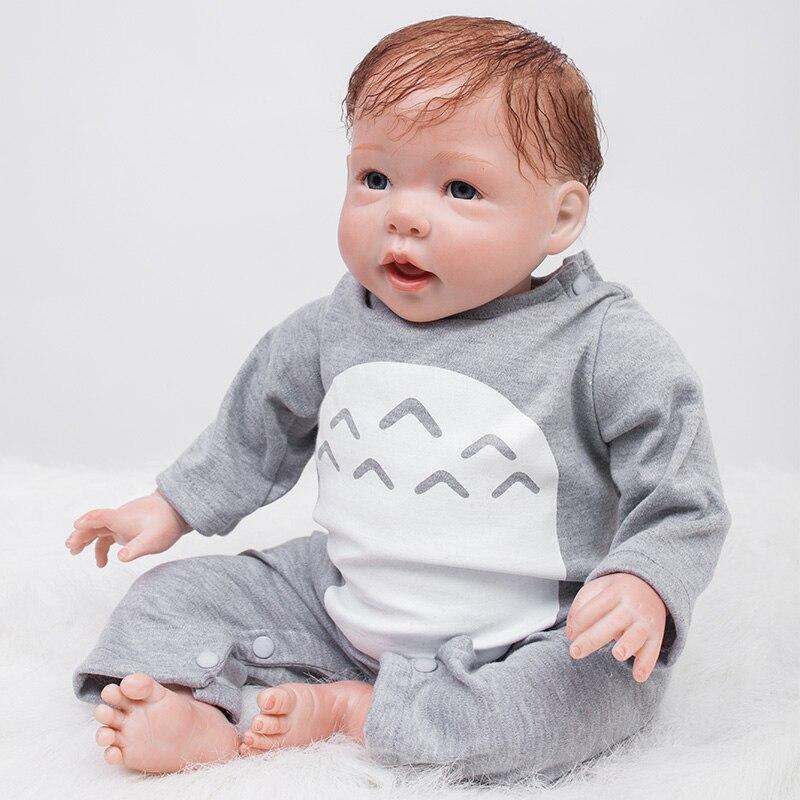 Otarddolls 22 cal 55 cm lalki dla dzieci Reborn lalki zabawki dla dzieci towarzyszyć spać śliczne winylu pluszowe lalki dziewczyna realistyczne zabawki dla dzieci prezent w Lalki od Zabawki i hobby na  Grupa 2
