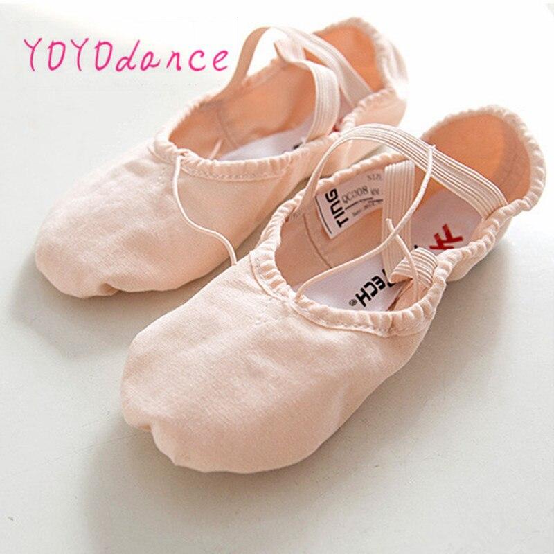 Women ladies teacher ballroom ballet leather practice ... |Practice Ballet Shoes