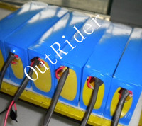 OR02H2 48V 20Ah LiFePo4 Battery With Heat Shrinkable Film And 3A Charger