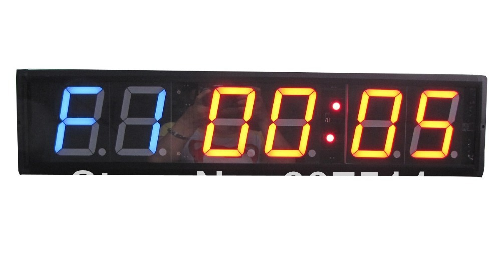 4 Character High Mma Wod Crossfit Interval Timer Gym