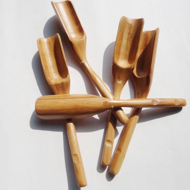 15cm 1pcs  Matcha Bamboo Tea Scoop spoon Tool Coffee Tea Spoon Handy Tools Great Gift idea for tea-lovers