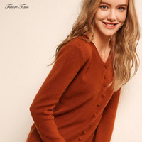 Wool Sweater Autumn and Winter Sexy V neck Soft Cashmere Elastic Sweaters and Pullovers for Women Knitted Brand Sweater C1680