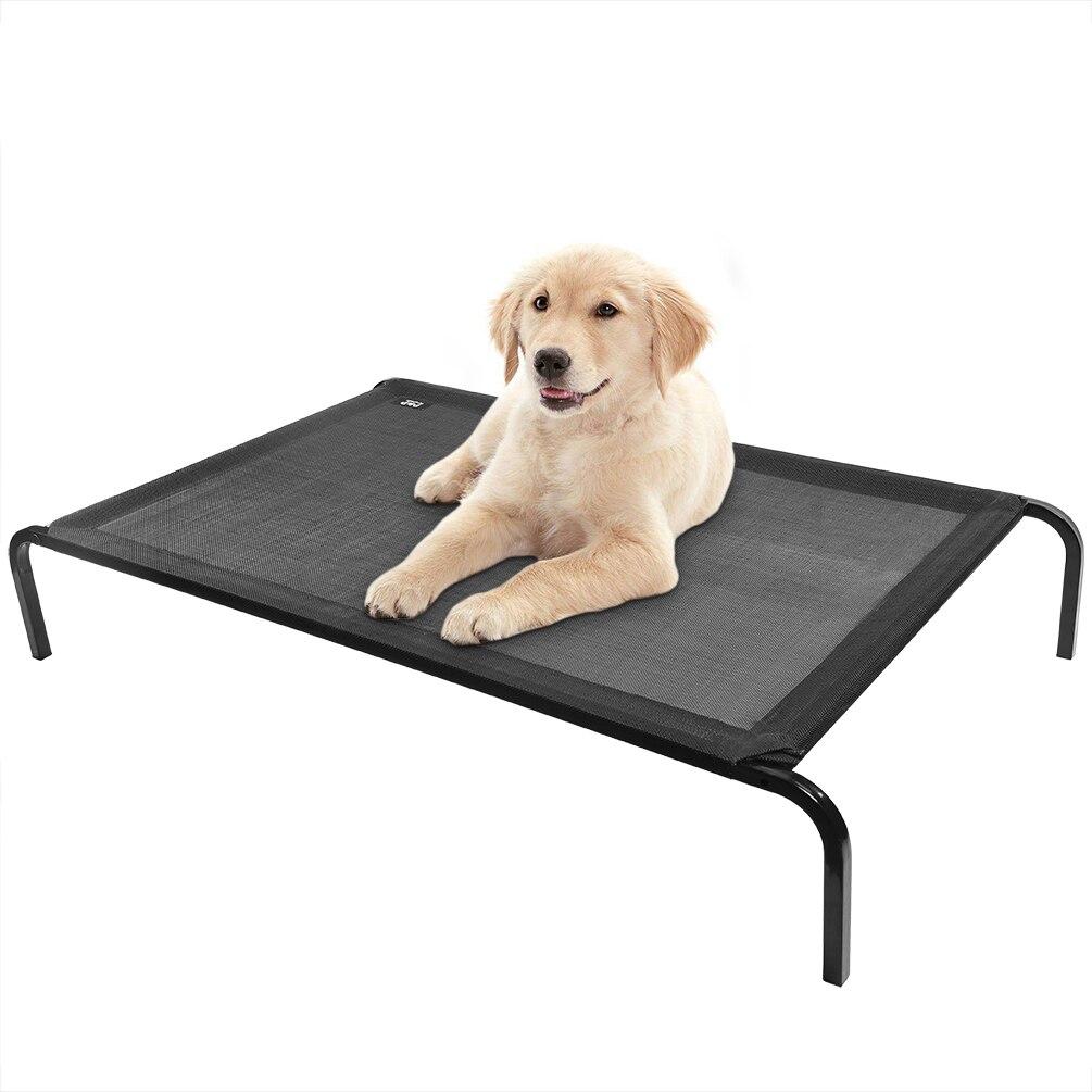 Ev ve Bahçe'ten Evler, Kulübeler ve Kapalı Oyun Yerleri'de Petacc Yükseltilmiş Büyük köpek yatağı Pet Yatak Ayrılabilir Pet Köpek Yuva Orta Büyük Köpekler için'da  Grup 1