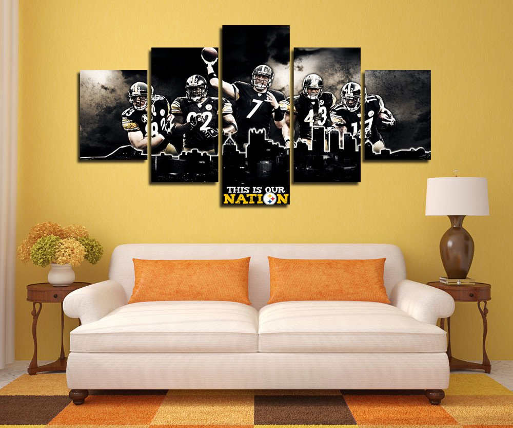 steelers home decor pittsburgh steelers man cave decor inspiring