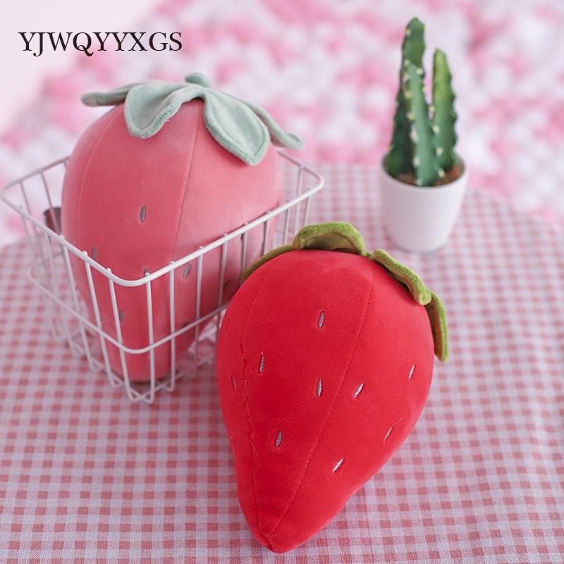 1PCS мягкий клубничный ананас - Мягкие и плюшевые игрушки
