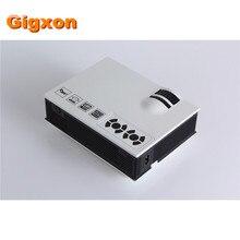 Gigxon-G40 + Alta Calidad de Sonido mini proyector 800*480 2000 lúmenes soporte MP3/WMA/MP4 proyector LCD EMS/Fedex IE/DHL