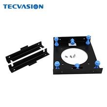 Металлический черный 3,5 SATA HDD до 5,25 Bay жесткий диск амортизация кронштейн конвертер адаптер монтажный комплект w/w 8 см вентилятор пространство