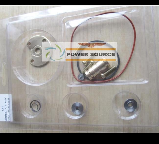 Turbo Repair Kit GT1544V 753420-5005S 740821 750030 753420 For Focus C-Max For CITROEN C3 C4 C5 206 307 407 DV4T DV6T 1.6L TDI td03 49131 05210 0375k7 turbo turbocharger for ford c max fiesta 6 hhja 1 6l for citroen jumper for peugeot boxer 3 4hv psa 2 2l