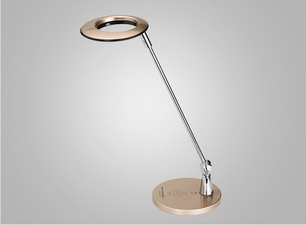 ФОТО LED protects the eye lamp of the mobile phone wireless charging touch type light reading lamp