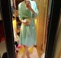 Genuine Mink Cachemira Cardigans Mujeres Top Moda Real Visón Cachemira Suéter Caliente Al Por Mayor Personalizar Descuento Bajo DFP905
