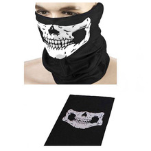 Motorcycle Skull Ghost Face Windproof Mask Outdoor Sport Winter Warm Ski Cap Bicycle Balaclavas Scarf Halloween Skullies Beanies
