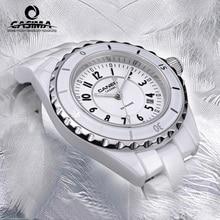 CASIMA Оригинальные Часы Дамской одежды Люксовый Бренд Леди Керамические кварцевые Часы женские Наручные Часы водонепроницаемый 6702