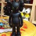 Alta Moda de Nueva Marca Niños Regalos Muñecas de Anime KAWS Original Fake Negro Muñecas Figuras de Acción 20 Cm Modelos Educativos Dj010