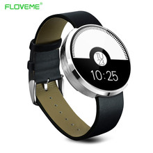FLOVEME K5 Reloj Inteligente con Conectividad Bluetooth Reloj SmartWatch Sincronización Notificador para Apple IOS Samsung Android Reloj Inteligente