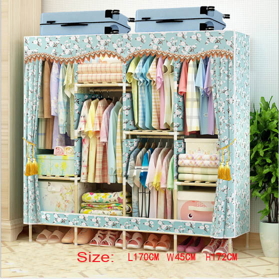 Factory Price Solid Wood Wardrobe  length 170 cmFactory Price Solid Wood Wardrobe  length 170 cm
