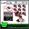 CarBole 8 шт. круглые UF262 катушки зажигания + 6 шт. свечи зажигания провода для Chevrolet для GMC 5.3L 6.0L 4.8L C1251 UF-262