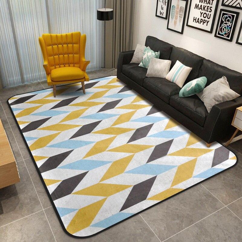 Creative abstrait Design salle de bain tapis grande taille salle de bain tapis pour salon chambre 7 couleurs tapis de bain tapis de bain 1 pièce