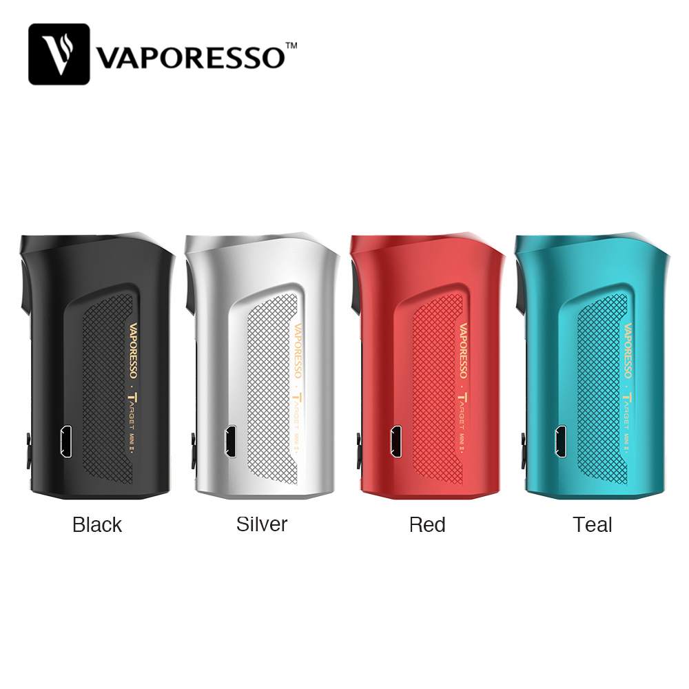 Original Vaporesso Target Mini 2 50W Box MOD With 2000mAh Built-in Battery & 2A Fast Charging Small Size E-cig Vape Mod VS Luxe