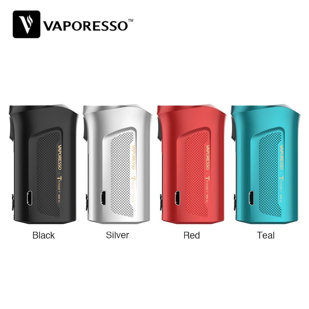 Original Vaporesso cible Mini 2 50W boîte MOD avec 2000mAh batterie intégrée et 2A charge rapide petite taille e-cig Vape Mod VS Luxe