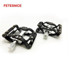 Фотография TAVTA Non-slip Professional sealed Bearing MTB pedal Aluminum Alloy Road Bike pedals Bicycle Parts Cycling Free shipping HR-3D
