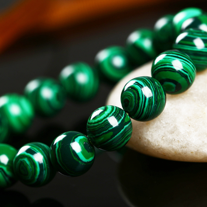 High Quality Fashion Green Malachite Crystal Bracelet 1