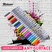 Permane-Marker-Pen Painting Project-Supplies Office Sharpie Fine-Point Waterproof Colorful