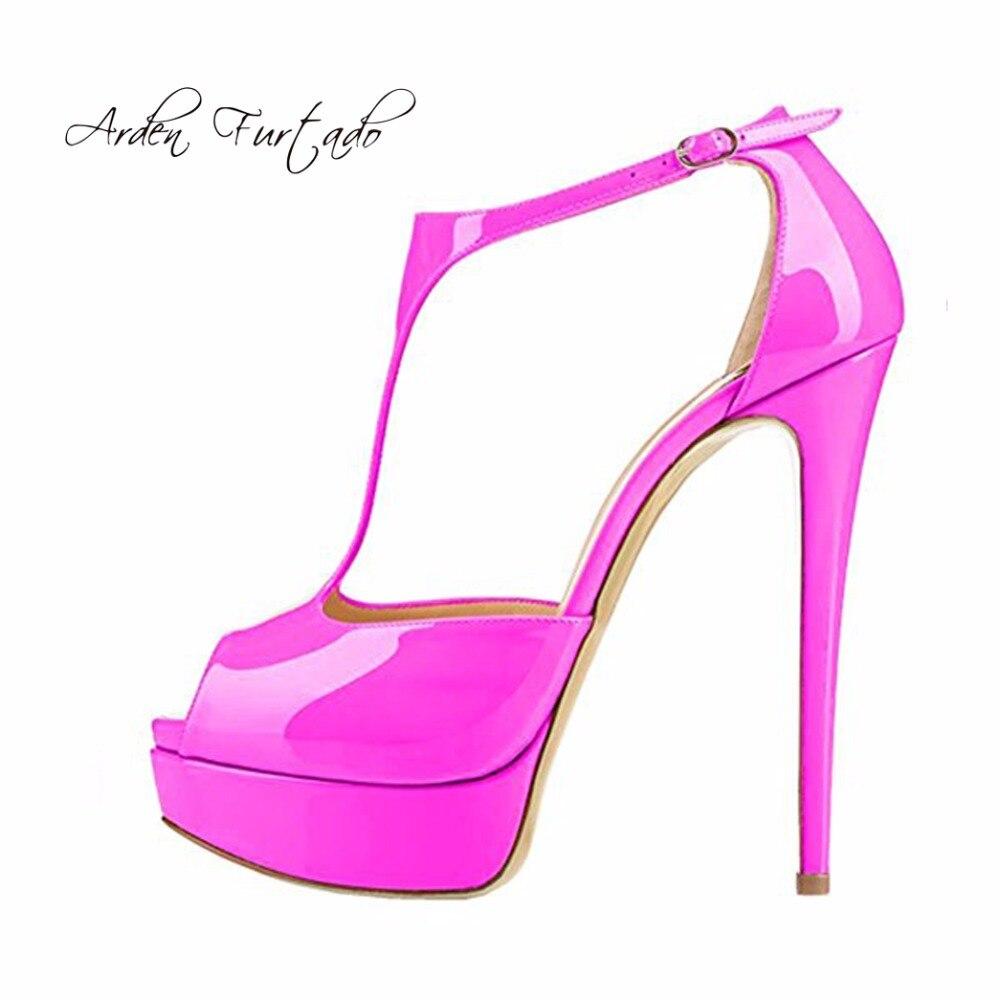 Arden Toe Plate D'été Jaune nude De T Haute Peep purple Aiguilles Mode sangle Nouvelle 15 Cm Nu Furtado yellow Gris Grey Chaussures Pour Talons Femme forme 2018 rpxw6nrqB