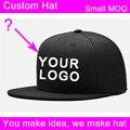 10 pçs/lote material acrílico 3d logotipo bordado chapéu fábrica ordem pequena aceitável personalizado tampa do hip hop