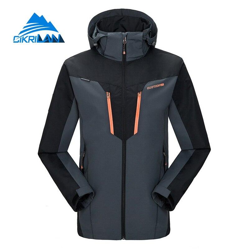 ФОТО Hot Sale New Wear Resistant Breathable Man Coat Windstopper Hiking Camping Sportswear Outdoor Sport Jacket Men Chaqueta Hombre