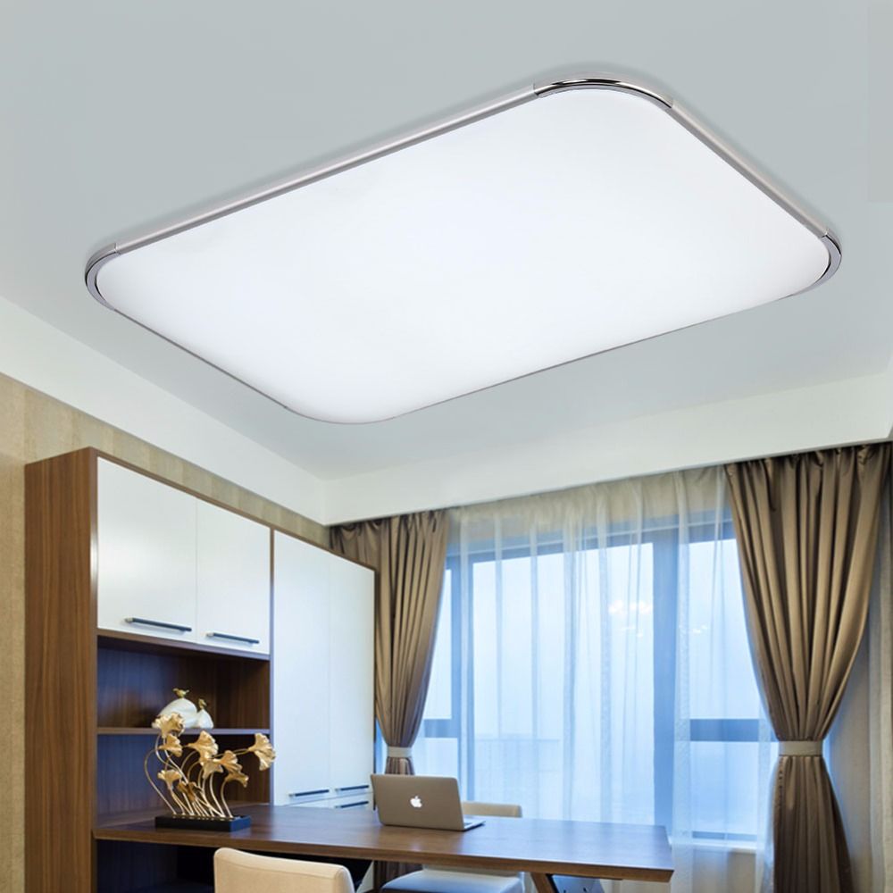 Modern Led Ceiling Lamp Remote Group RGB Ceiling lights For Living ...