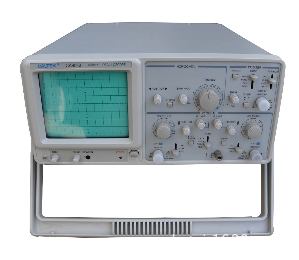 Dual Trace Oscilloscope : Fast arrival caltek ca d dual channel analog