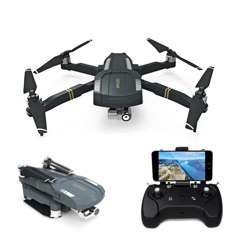 C-FLY ERHALTEN Faltbare RTF RC Quadcopter GPS WiFi FPV 1080 P HD Drohne mit Kamera 3-achsen Stabilisierung Gimbal Folge Mir modus