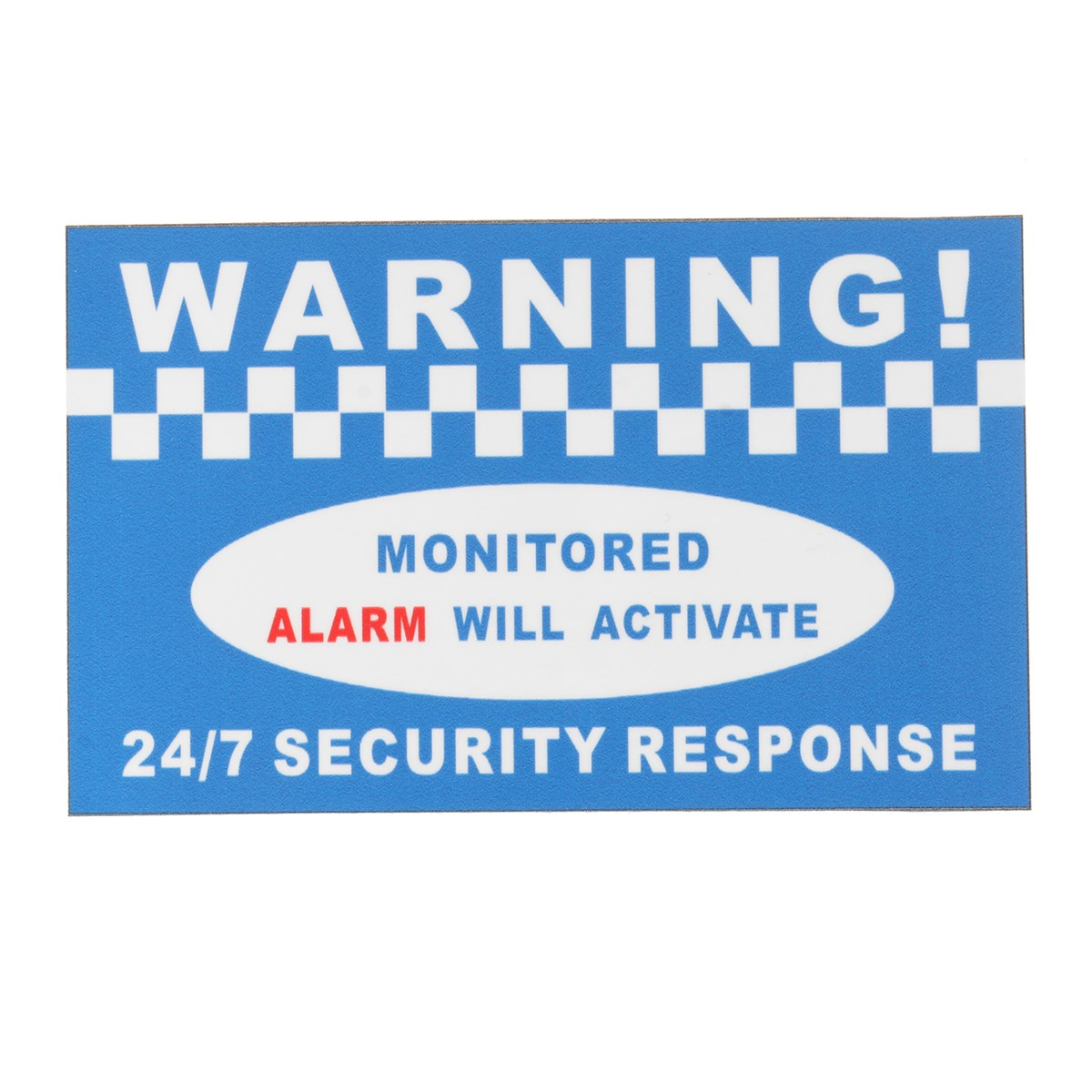 Новое предупреждение безопасности защиты виниловые сигнализации Наклейки Войти Наклейка дома офисные Детская безопасность