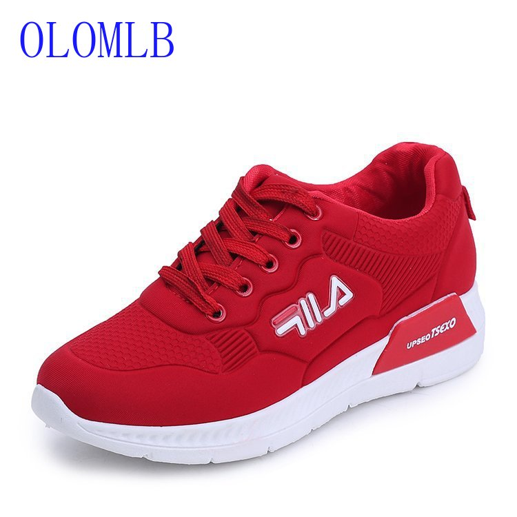 OLOMLB 2019 New Chunky Sneakers Women Vulcanize Shoes Casual Fashion Dad Shoes Platform Sneakers Basket Women Shoes