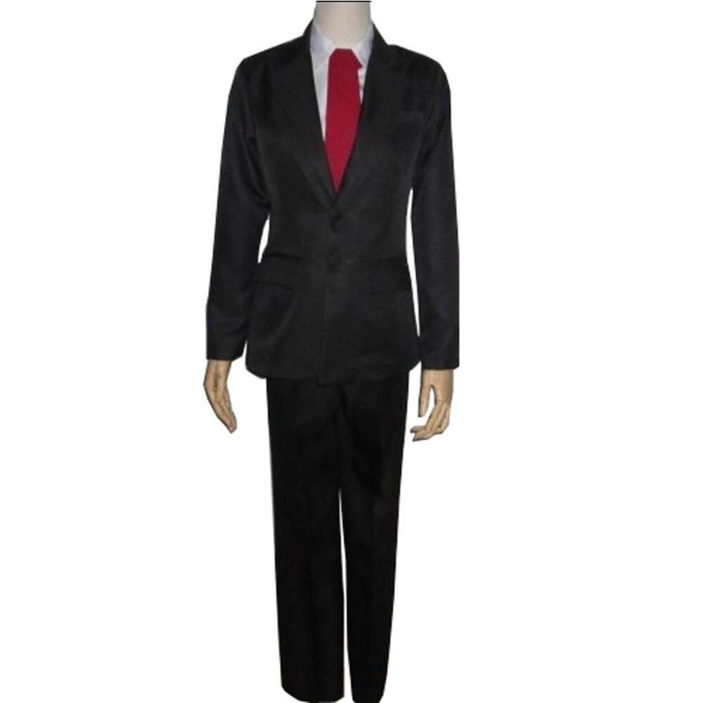 2018 Fairy Tail Leo Cosplay Costume Custom Made Coat+shirt+pants+necktie